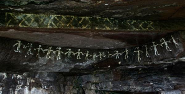 Pinturas rupestres de Boyé